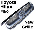 View Item Toyota Hilux Mk6 Replacement Grille - 2009 style ( standard graphite &amp; chrome )